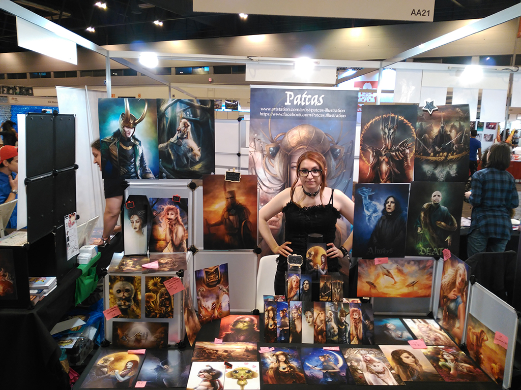 Patcas illustration artist alley